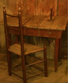 Turnbaugh's American Country Antiques/ I need something like this for Papa's study Primitive Tables, Primitive Gatherings, Primitive Furniture, Primitive Antiques, Country Primitive, Antique Furniture, Prim Decor, Country Decor, Rustic Decor
