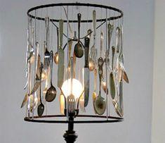 Turn those old utensils into art!
