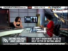 MSNBC's News Nation w/ Tamron Hall - College Dating Violence & Abuse Data - YouTube