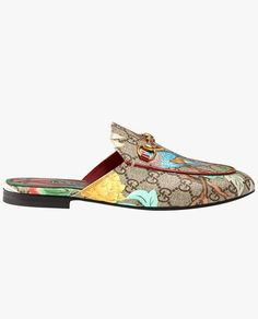 Gucci Tian Princetown slippers.