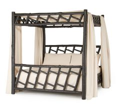 Rustic Canopy Bed 4178 from La Lune Collection
