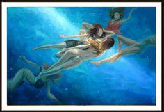 90 x 60 Sirenas