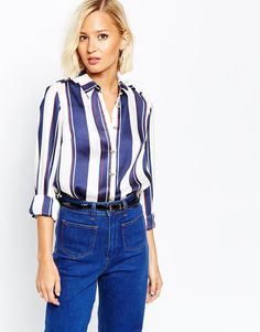 River Island Stripe Blouse