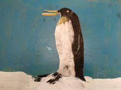 Penguins, Whale, Infant, Painting, Animals, Art, Art Background, Whales, Baby