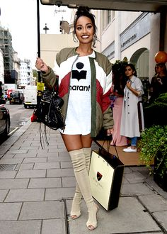 "littlesmixs: ""Leigh Anne Pinnock leaving the Aspinal of London S/S17 presentation in London on September 19, 2016. """