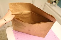 Paper Bag Mailer Tutorial.