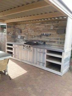 Ik wil echt zo graag een buitenkeuken