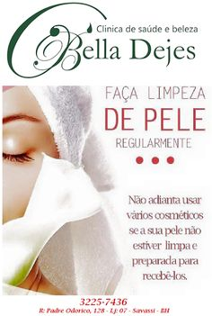 Bella Dejes Clínica de Saúde e Beleza: LIMPEZA DE PELE