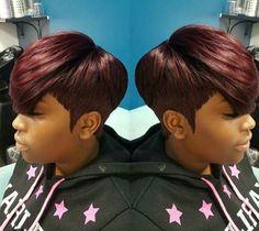 Nice 9 to 5  hair do