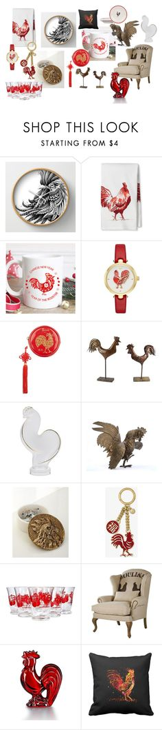 """Chinese New Year"" by julie-rawding ❤ liked on Polyvore featuring interior, interiors, interior design, home, home decor, interior decorating, Threshold, Kate Spade, Harrods and A&B Home"