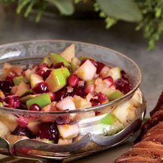 Our Favorite Cranberry Recipes: Apple-Cranberry-Pomegranate Salsa