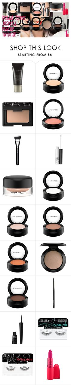 """Kendall Jenner Inspired Makeup Tutorial"" by oroartye-1 on Polyvore featuring beauty, Laura Mercier, MAC Cosmetics, NARS Cosmetics, Revlon and Ardell"