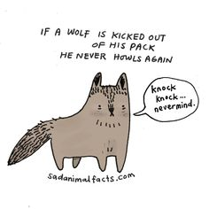 I've got some bad news about wolves.