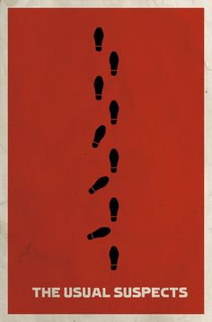 The Usual Suspects | Community Post: 33 Movie Posters That Prove Less Really Is More