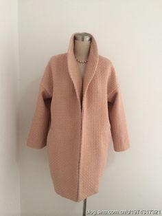 manteau cocoon - schéma