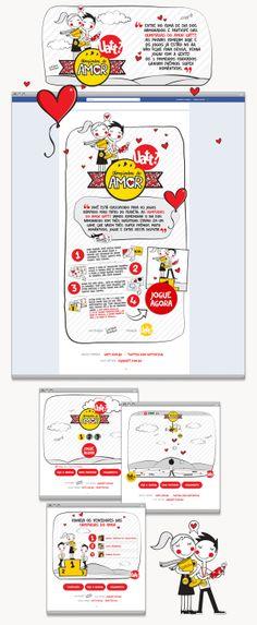 Uatt - Aplicativo Facebook / Game Dia dos Namorados on Behance