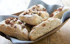 Bacon, Walnut and Thyme Scones