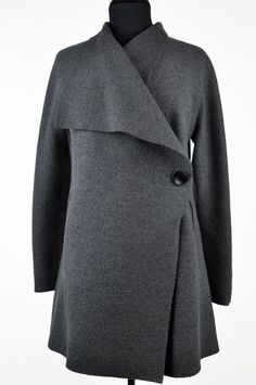 Oska - Grey Alba Coat - wool