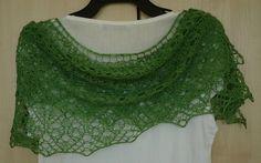 Ravelry: Double Bubble Lace Shawl pattern by Yellow Mleczyk