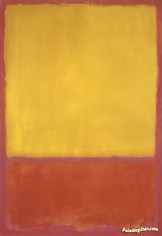 Ochre And Red On Red, 1954 Artwork by Mark Rothko Hand-painted and Art Prints on canvas for sale,you can custom the size and frame Mark Rothko Paintings, Local Art Galleries, Colour Field, Phillips Collection, Orange Art, Buy Prints, Custom Art, Online Art, Canvas Art Prints