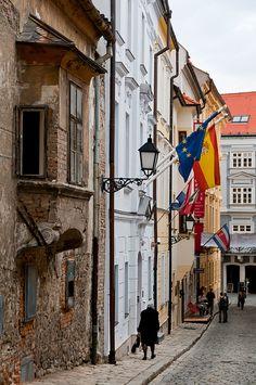 Spanish Embassy street in Bratislava