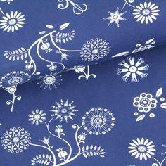 Biojersey:+Sewing+Flowers+by+Pattydoo+-+blau+von+Stoffonkel+auf+DaWanda.com