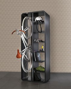 Bicycles, the urban lifestyle and Interior Design. | Design Build Ideas