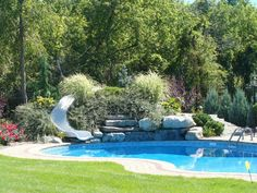Beautiful Backyard! Landscape Design, Hardscape, Poolscape, Fencing. Fencing, Design Projects, Pools, Landscape Design, Backyard, Outdoor Decor, Beautiful, Home Decor, Fences