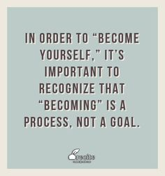 """Becoming a leader is synonymous with becoming yourself. It's precisely that simple, and it's also that difficult."" ~ Warren Bennis Notably, ""becoming"" yo"