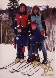 Seth Meyers & Family( Mom, Hilary, was French teacher at McKelvie School in Bedford, NH) Seth Meyers, French Teacher, Christmas Sweaters, Winter Jackets, Celebrity, Mom, School, Winter Coats, Winter Vest Outfits