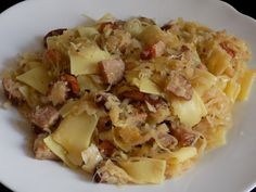 Cabbage and Beef Casserole Cabbage Casserole, Beef Casserole, Casserole Dishes, Sauerkraut, Cabbage And Beef, Cabbage Rolls Recipe, Polish Recipes, Polish Food, Food Club