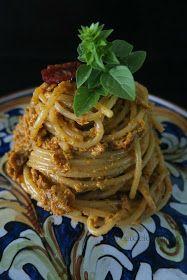 Pasta Al Pesto, Gnocchi, Pasta Noodles, Italian Recipes, Pasta Recipes, Spaghetti, Recipies, Good Food, Food And Drink