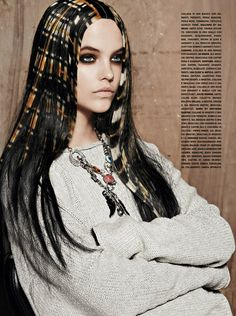 """Once Upon a Time"" | Model: Barbara Palvin, Photographer: David Dunan, Vogue Gioiello, June 2011"