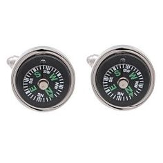 Unincorporated Minds: 5 Worldly Cuff Links to Rule the Globe #cufflinks #style #mens