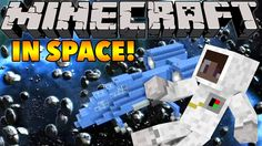 MINECRAFT IN SPACE! Survival, Visiting Mars, Epic Spaceship Build & More...