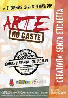 """""""Arte no caste""""al Castello di Nocciano - Mostre esposizioni"""
