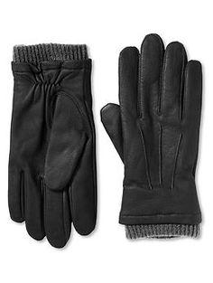 #BRAnnaK Lined leather work glove