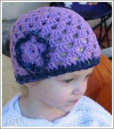 cute crochet hat free pattern