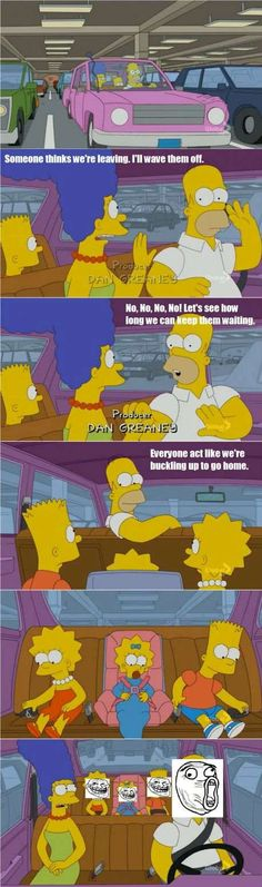 The Simpsons Troll