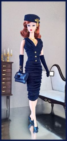 OOAK-Fashions-for-Silkstone-12-034-Fashion-Royalty-Vintage-barbie-Poppy-parker