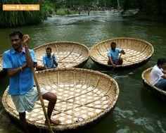 Incredible India - Google+ - #incredibleindia - Coracle ride at Hogenakkal waterfalls,…