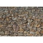 York Wallcoverings 57 sq. ft. Travertine Wallpaper - RN1039 - The Home Depot