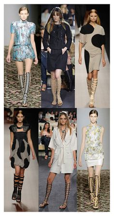 gladiator sandals seen on the runway #spring2013