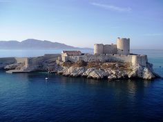This historic island prison holds one of the dungeons from the Count of Monte Cristo even though it is a work of fiction