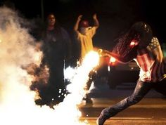 Ferguson protester featured in iconic photo dies