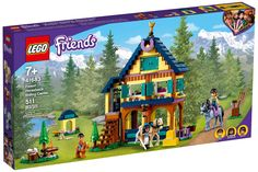Forest Waterfall, Hanging With Friends, Les Cascades, Horse Ranch, Guide Dog, Forest House, Birthday Gifts For Kids, Horseback Riding, Lego City