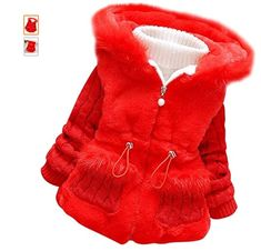 Material: Cotton,Coral velvet,very warm and comfortable to wear in cold weather The waist is elastic For 1-4 years old baby girls. Baby Girl Winter, Girls Winter Coats, Girls Fleece, Warm Outfits, Cotton Jacket, Warm Coat, Outerwear Jackets, Baby Girls, Clothes