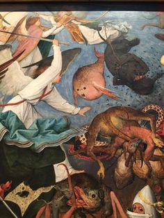 The Fall of the Rebel Angels is an oil-on-panel by Flemish renaissance artist Pieter Bruegel the Elder,
