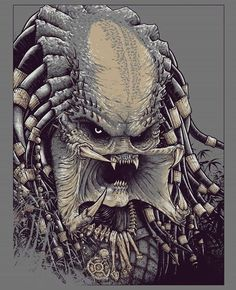 Concept art for a Predator