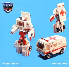 Autobot Transformer RATCHET a creation by Orion Pax